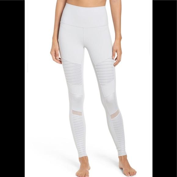 64e7bde46e92ab ALO Yoga Pants | Alo High Waist Moto Leggings | Poshmark